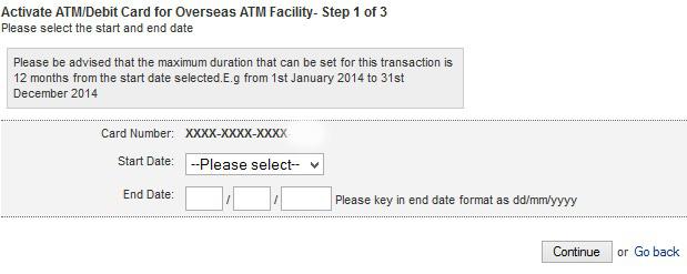 aktifkan debit kad Maybank untuk luar negara